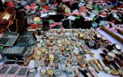 Conso: Destruction de 100.000 produits de contrefaçon