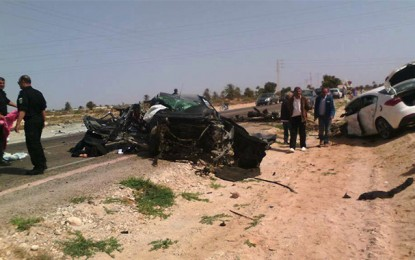 Djerba : 3 morts dans un accident de la circulation
