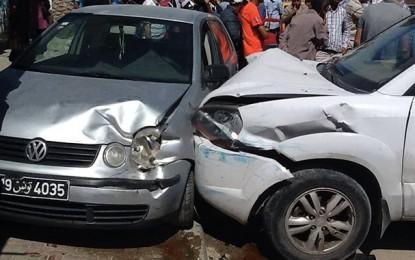 Une voiture fauche un couple à Gabès: La femme décède sur le coup