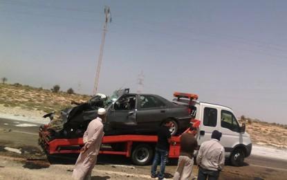Le bilan de l'accident de Djerba s'est élevé à 4 morts