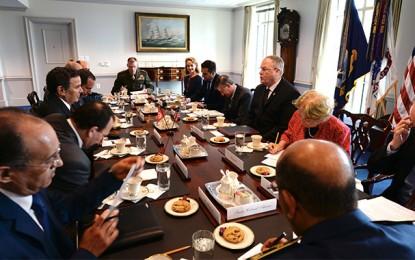 Horchani au Pentagone pour renforcer le partenariat militaire tuniso-américain