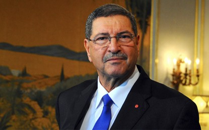 Habib Essid à Bruxelles: «Pas de développement sans sécurité»