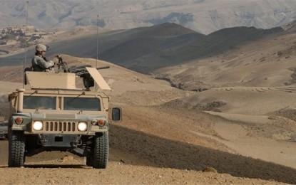 La Tunisie prend livraison de 52 Humvee et d'un patrouilleur américains