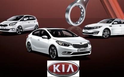Automobile: Kia en pôle position pour les véhicules particuliers