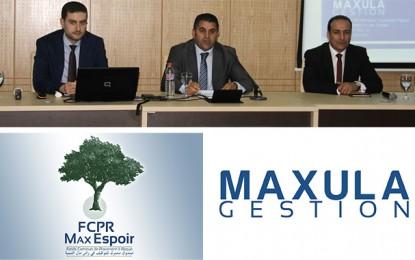 Investissement : Maxula Gestion lance la souscription au FCPR Max-Espoir