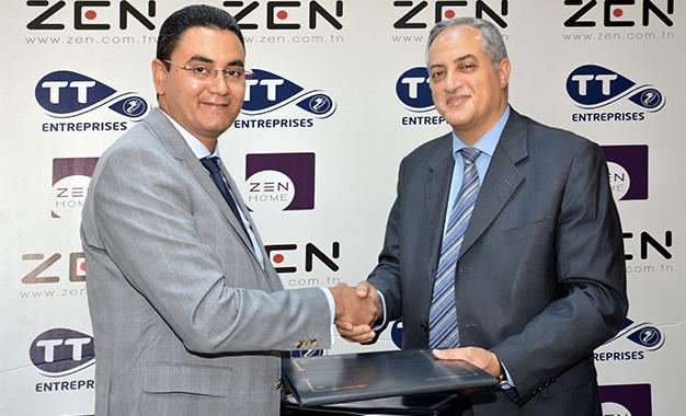 Le groupe zen int gre le club des partenaires de tunisie for Meuble zouari