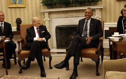 Une dernière pensée publique du président Obama pour la Tunisie