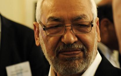 Rached Ghannouchi sort indemne d'un accident de la route