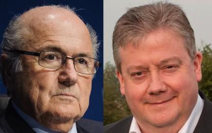 Blatter : du sang sur les mains et des poches bien remplies