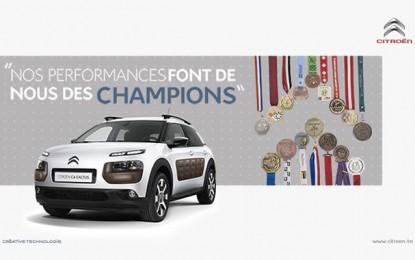 Sponsoring: Un nouvel athlète rejoindra bientôt le Team Champions Citroën