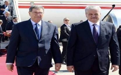 Habib Essid en Algérie pour resserrer les liens entre Tunis et Alger