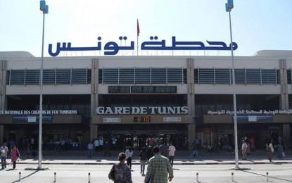 Gare de Tunis : La police évacue des agents de la SNCFT