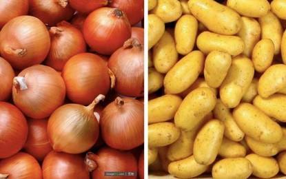 Commerce : Prix plafonnés pour l'oignon et les pommes de terre