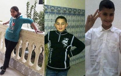 Deux garçons (11 ans) et une fillette (12 ans) disparus à Moknine