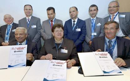Tunisair – Airbus : Partenariat en en matière de formation en maintenance