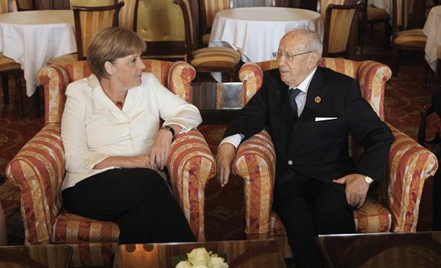 Tunisie- Entretien téléphonique entre Angela Merkel et Béji Caïd Essebsi
