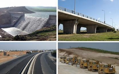 Des chantiers d'infrastructures pour relancer la croissance en Tunisie