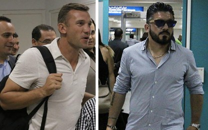 «Je serais en Tunisie cet été» : Gattuso et Chevchenko à Tunis