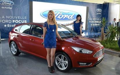 Automobile: La Ford Focus au moteur Ecoboost débarque à Tunis