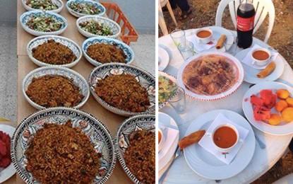Ramadan: Des repas d'«iftar» pour les nécessiteux