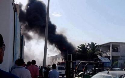 Port de Sousse : Incendie dans un entrepôt de la douane