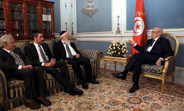 Joseph-Sitruk-et-Caid-Essebsi-