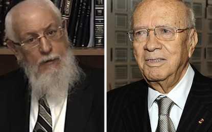 Tunisie-France: Béji Caïd Essebsi reçoit Joseph Sitruk