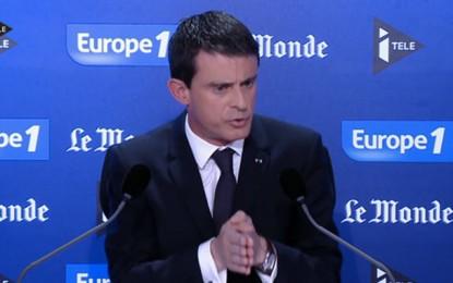 Manuel Valls : « Il faut continuer à aider la Tunisie »