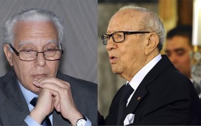 Réconciliation nationale: Ben Aissa en désaccord avec Caïd Essebsi?