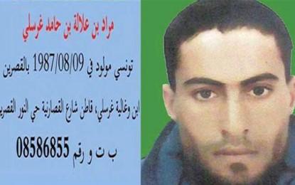 Terrorisme: Mourad Gharsalli condamné à 12 ans de prison