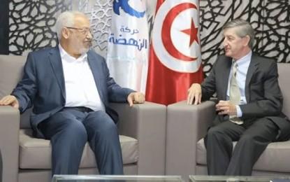 Tunisie: Jacob Walles chez Ghannouchi «l'Américain»