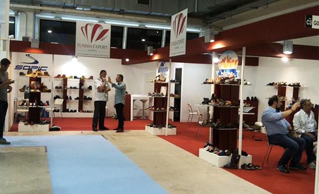 la chaussure tunisienne au salon expo riva schuh en italie