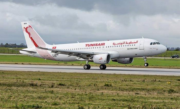 Tunisair-avion-au-sol