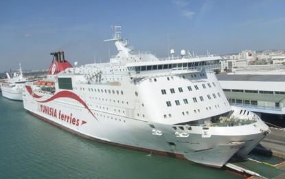 Tunisie : Arrivée d'un bateau de Marseille avec 833 passagers, tous placés en auto-quarantaine