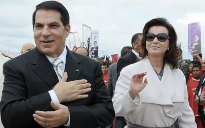 Ben Ali fait appel dans l'affaire du gel de son compte bancaire