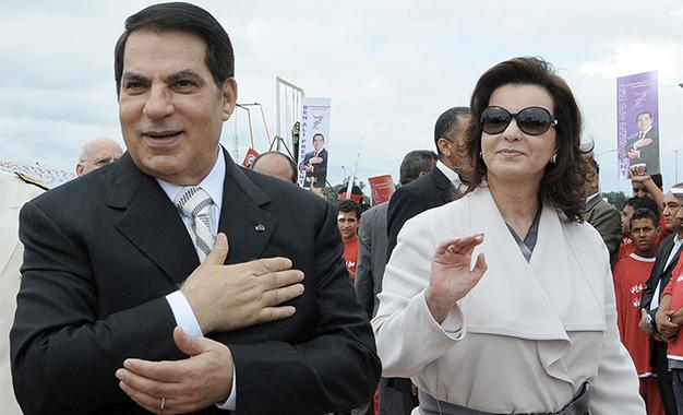 Zine-Ben-Ali-et-Leila-Trabelsi