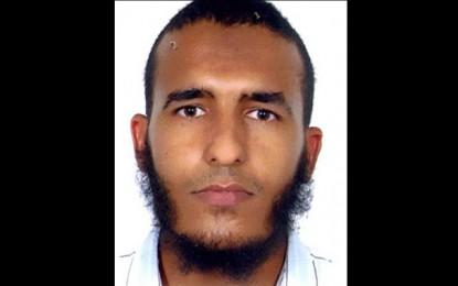 Avis de recherche du présumé terroriste Abdelhamid Ben Saïd