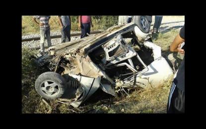Bouarada: Trois morts dans la collision entre une auto et un train