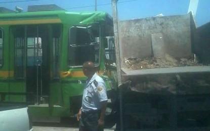 Des blessés légers dans l'accident de métro de Manouba