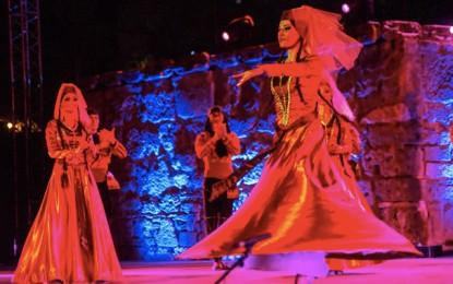 Ballet géorgien Samaia: Feu d'artifice dans le ciel de Carthage