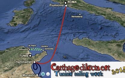 Voile : La régate Carthago Dilecta Est arrive, le 2 août, à Hammamet