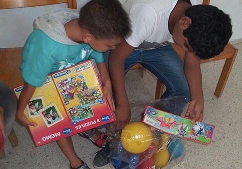 Enfants-et-cadeaux