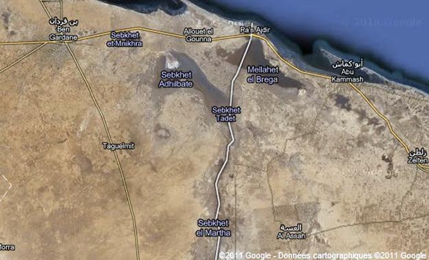 Frontiere-Tunisie-Libye