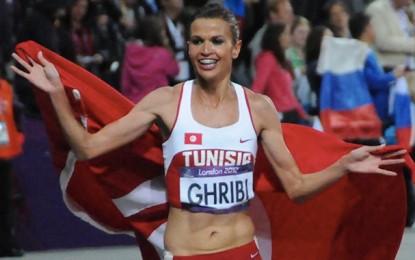 L'athlète Habiba Ghribi ambassadrice des JM Sfax 2021