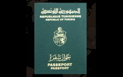 Le passeport tunisien classé 9e en Afrique et 6e dans le monde arabe