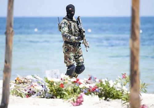 Plage-de-Sousse-garde-par-des-forces-speciales