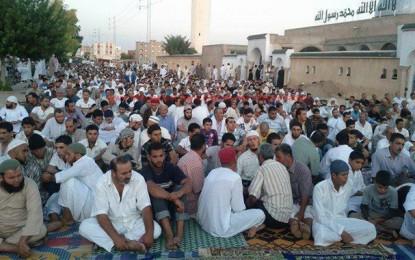 Jelma: Protestation contre la fermeture d'une mosquée