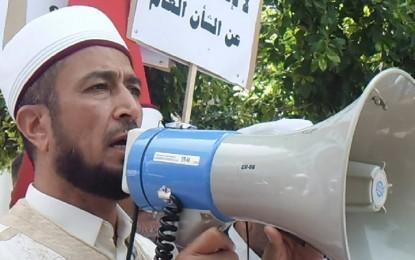 Ridha Jaouadi libéré, ses partisans empêchent la prière du vendredi !