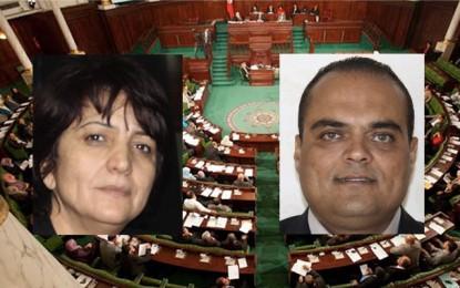 Assemblée: Samia Abbou accuse Sofien Toubel d'avoir tenté de la gifler