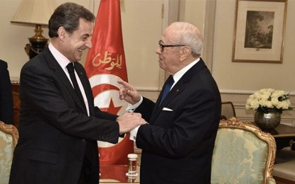 France – Tunisie : Nicolas Sarkozy attendu dimanche à Tunis